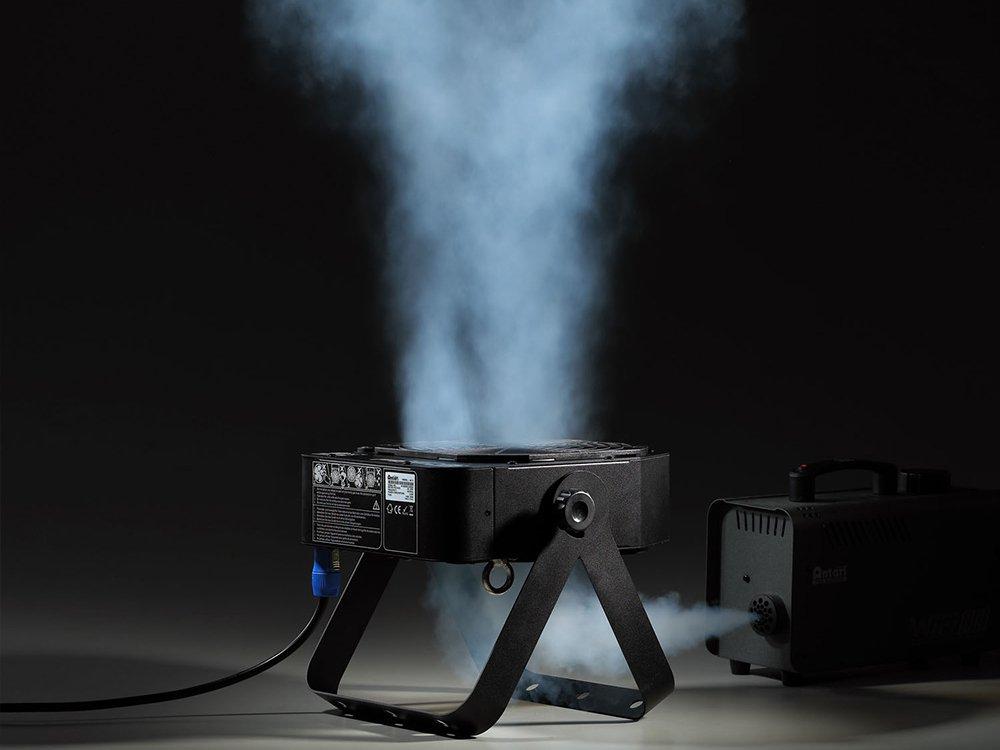 アンタリ スモークマシーン用 強力送風機 DMX対応 軽量サーキュレーター
