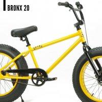 ブロンクス BRONX 20 20 x 4.0 変速なし ファットバイク 自転車 20インチ