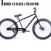 ブロンクス BRONX 4.0 26 x 4.0  Black Polish 変速なし ファットバイク 自転車 26インチ