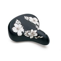 ELECTRA HAWAII SADDLE BLACK/FLOWERS