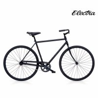 ELECTRA LOFT 1 MENS MATTE BLACK エレクトラビーチクルーザー メンズ 700x38C 自転車