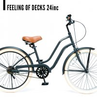 Feeling of decks 24inc for kids curiser FOD/フィーリング
