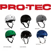 PRO-TEC SKATE HELMET CLASSIC CERTIFIED / プロテックスケートBMXヘルメット