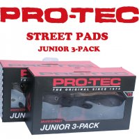 PRO-TEC STREET PAD JINIOR 3pac / プロテックストリートパッド ジュニア3パック プロテクター スケートボード用 自転車用 大人用 キッズ用<img class='new_mark_img2' src='https://img.shop-pro.jp/img/new/icons61.gif' style='border:none;display:inline;margin:0px;padding:0px;width:auto;' />