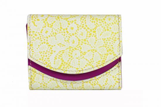 16年5月25日【小さい財布・極小財布】小さいふ。ペケーニョ 【今日の小さいふ】いつも心に花束を