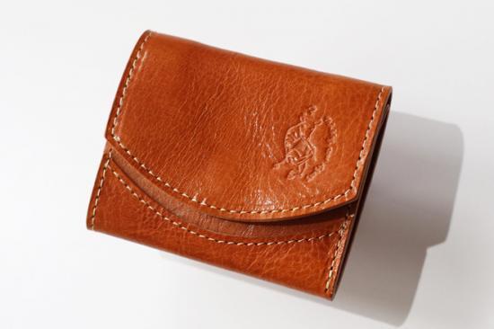 小さい財布 小さいふ。イタリアンレザーシリーズ「ペケーニョ イタリアンタンポナートレザー/カメロ 」