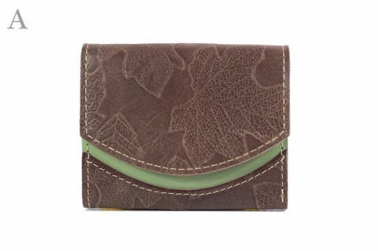16年10月14日【小さい財布・極小財布】小さいふ。ペケーニョ 【今日の小さいふ】落葉クリップ:A