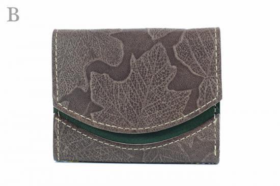 16年10月14日【小さい財布・極小財布】小さいふ。ペケーニョ 【今日の小さいふ】落葉クリップ:B