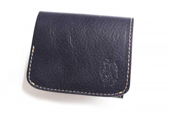 【極小財布・小さい財布】小さいふ。コンチャ【イタリアン タンポナートレザー】マリーノ