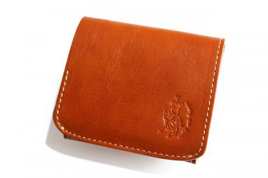 【極小財布・小さい財布】小さいふ。コンチャ【イタリアン タンポナートレザー】カメロ