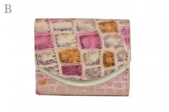 16年12月4日【小さい財布・極小財布】小さいふ。ペケーニョ 【今日の小さいふ】ピンクトルマリン:B