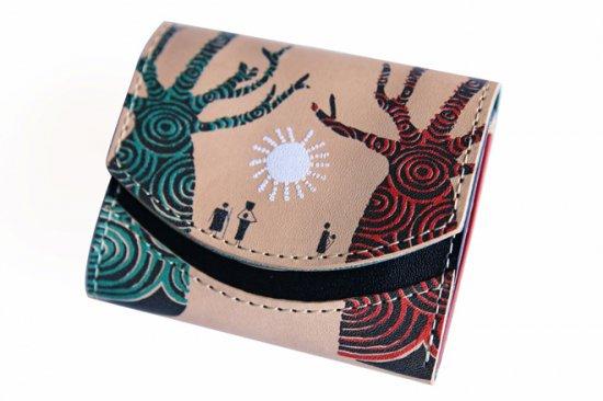 17年9月13日2000色記念 【小さい財布・極小財布】小さいふ。ペケーニョ 【今日の小さいふ】二千年生きる木