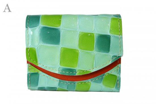 17年10月12日【小さい財布・極小財布】小さいふ。ペケーニョ 【今日の小さいふ】サクラダファミリアのステンドグラス < A >