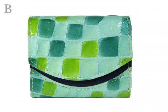 17年10月12日【小さい財布・極小財布】小さいふ。ペケーニョ 【今日の小さいふ】サクラダファミリアのステンドグラス < B >