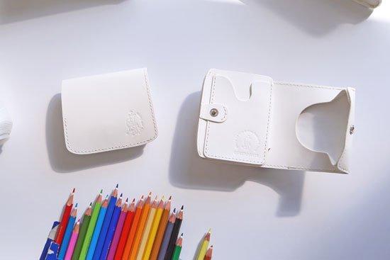 小さい財布  小さいふ。カラーオーダーシリーズ「コンチャ」栃木レザー