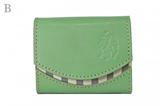 17年11月5日【小さい財布・極小財布・ミニ財布】小さいふ。ペケーニョ 【今日の小さいふ】アンティークグリーン < B >