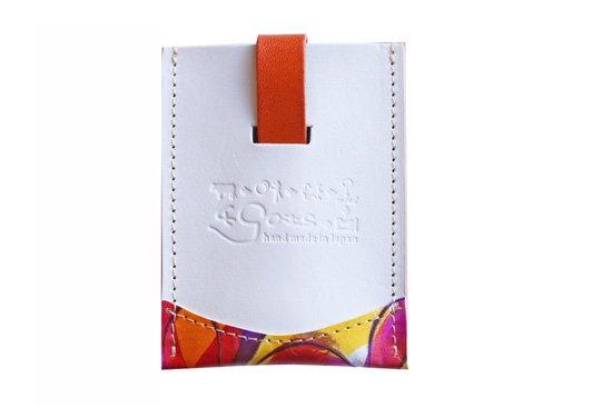 ひっぱるカード入れ「ちょっと賢いカードケース 進化バージョン」 アリス 〜黄金の午後〜