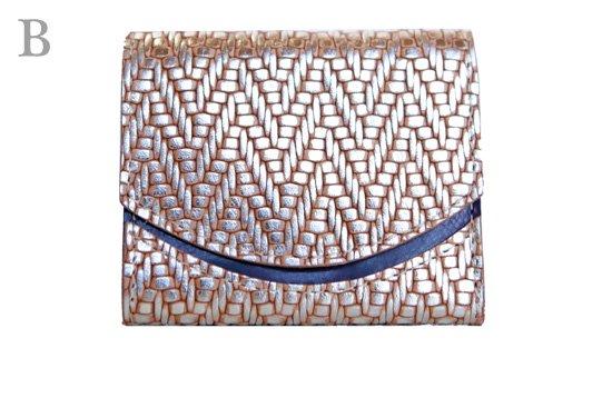 18年2月12日 < B >【小さい財布・極小財布・ミニ財布】小さいふ。ペケーニョ 【今日の小さいふ】ベルガモの石畳