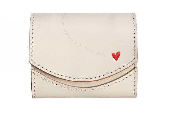 小さい財布 小さいふ。アニバーサリー記念日シリーズ「ペケーニョ ホワイトデー「ホワイトハート」