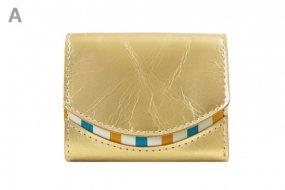18年4月21日 < A >【小さい財布・極小財布・ミニ財布】小さいふ。ペケーニョ 【今日の小さいふ】金色の折り紙