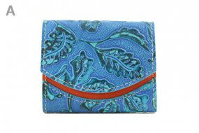 18年4月25日 < A >【小さい財布・極小財布・ミニ財布】小さいふ。ペケーニョ 【今日の小さいふ】全部、青い。