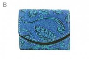 18年4月25日 < B >【小さい財布・極小財布・ミニ財布】小さいふ。ペケーニョ 【今日の小さいふ】全部、青い。