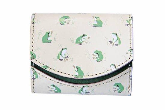 小さい財布 小さいふ。アートシリーズ「ペケーニョ カエル SAMMAKKO サンマッコ 」白