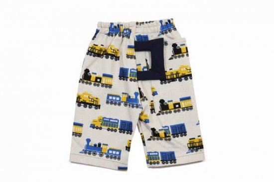 パンタグラフつき汽車パンツ|子供用しっぽ付キッズパンツ るいこ堂