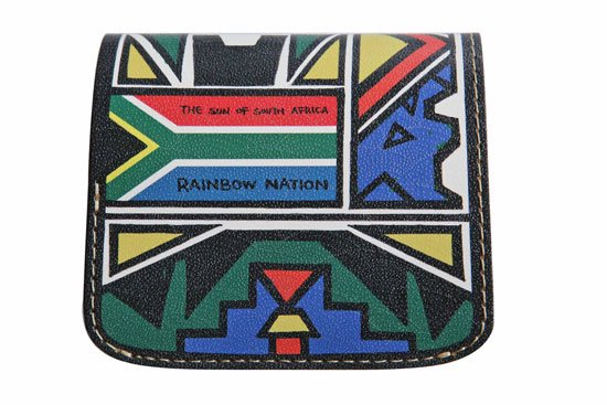 小さい財布 小さいふ。偉人シリーズ 「コンチャ 南アフリカ「AMANDLA」TOUGH」