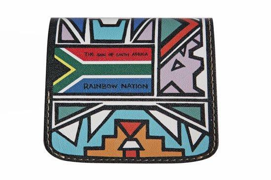 小さい財布 小さいふ。偉人シリーズ 「コンチャ 南アフリカ「AMANDLA」SWEET」