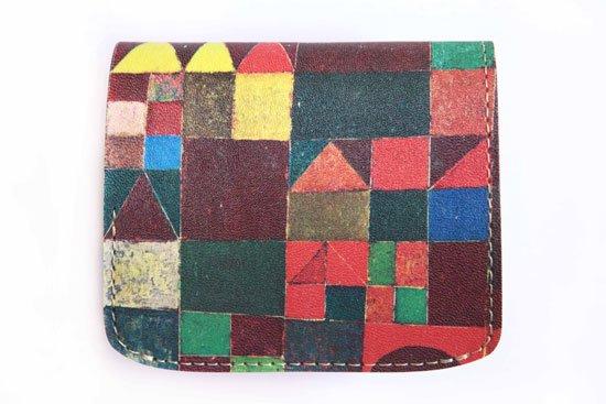小さい財布 小さいふ。アートシリーズ「コンチャ バウシリーズ-お城-」