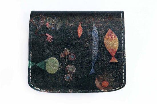 小さい財布 小さいふ。アートシリーズ「コンチャ バウシリーズ-水族館-」