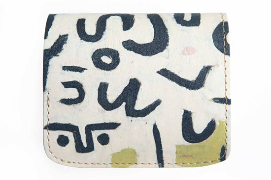 小さい財布 小さいふ。アートシリーズ「コンチャ バウシリーズ-暗号-」