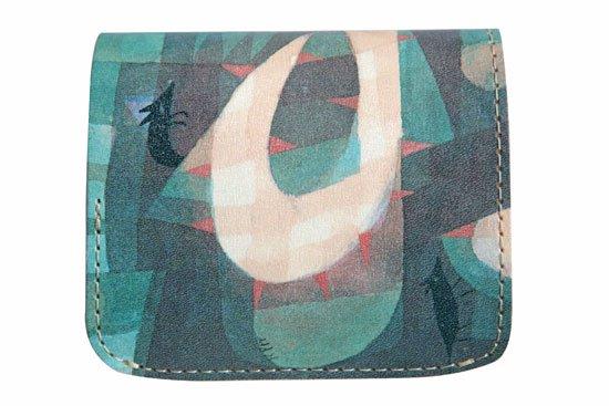 小さい財布 小さいふ。アートシリーズ「コンチャ バウシリーズ-ねずみ-」