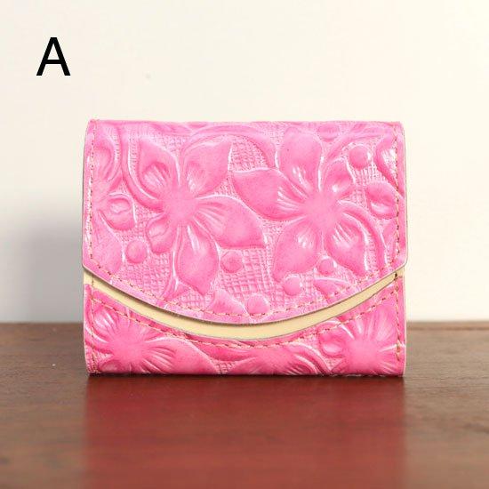 < A >20年5月18日【小さい財布・極小財布・ミニ財布】小さいふ。ペケーニョ 【今日の小さいふ】桃色の砂浜