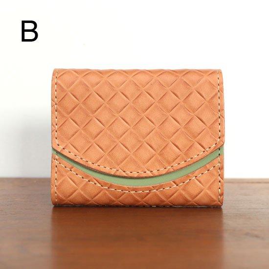 < B >20年5月29日【小さい財布・極小財布・ミニ財布】小さいふ。ペケーニョ 【今日の小さいふ】オレンジガーネット