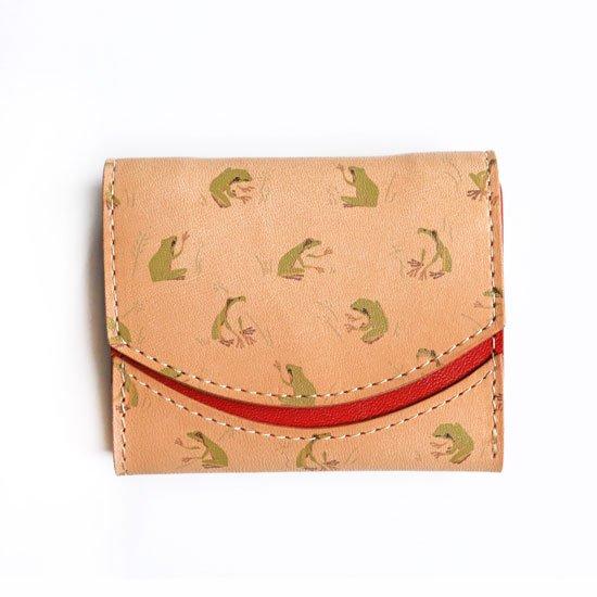 【小さい財布・極小財布・ミニ財布】小さいふ。ペケーニョ 【今日の小さいふ+WEEKS】カエル K1
