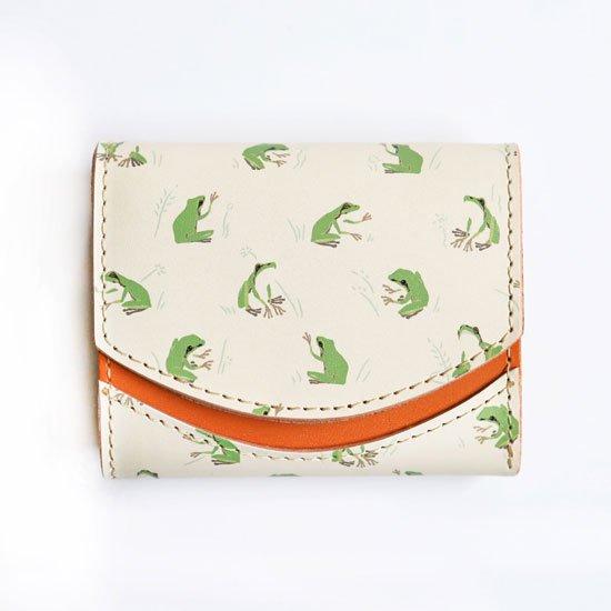 【小さい財布・極小財布・ミニ財布】小さいふ。ペケーニョ 【今日の小さいふ+WEEKS】カエル K2