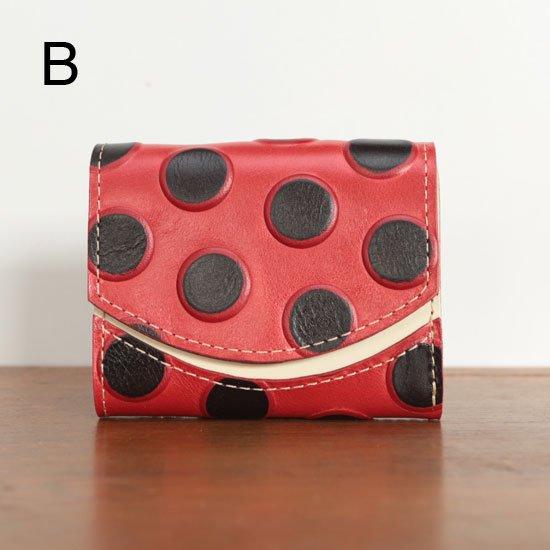 < B >20年7月7日【小さい財布・極小財布・ミニ財布】小さいふ。ペケーニョ 【今日の小さいふ】派手なきのこ