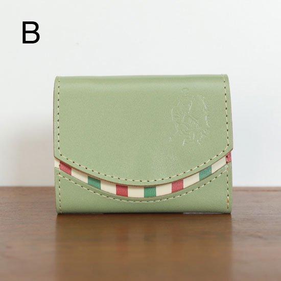 ミニ財布  今日の小さいふシリーズ「ペケーニョ 新緑の<  B  >20年7月17日」
