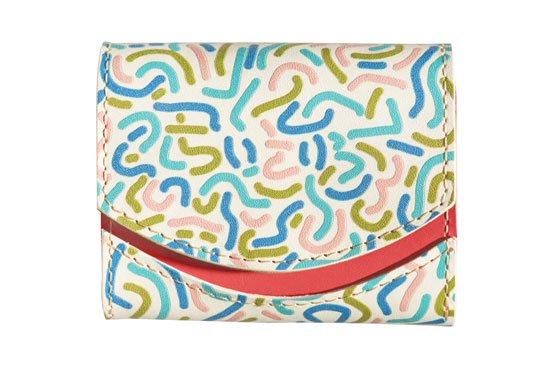小さい財布 小さいふ。アートシリーズ「ペケーニョ「SAFE FLIGHT!」-良い旅を!-HONOLULU」白