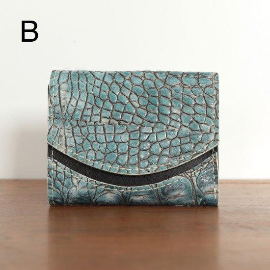 ミニ財布  今日の小さいふシリーズ「ペケーニョ 岩礁<  B  >20年8月23日」