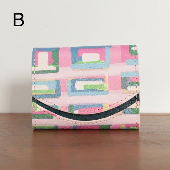 ミニ財布  今日の小さいふシリーズ「ペケーニョ プサンの街並み<  B  >20年8月17日」