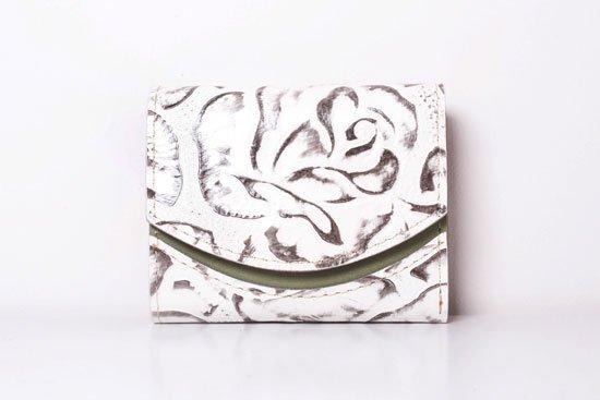 ミニ財布  今日の小さいふシリーズ「ペケーニョ 薔薇<  A  >20年9月26日」