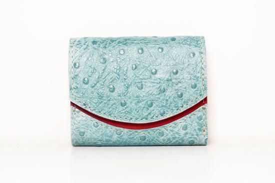 ミニ財布  今日の小さいふシリーズ「ペケーニョ ターコイズ<  B >20年10月8日」