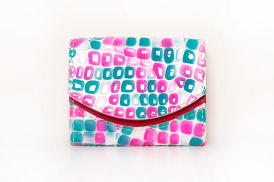 ミニ財布  今日の小さいふシリーズ「ペケーニョ ジュエリーソース<  B  >20年10月2日」