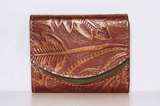 ミニ財布  今日の小さいふシリーズ「ペケーニョ マロングラッセ<  B >20年11月6日」