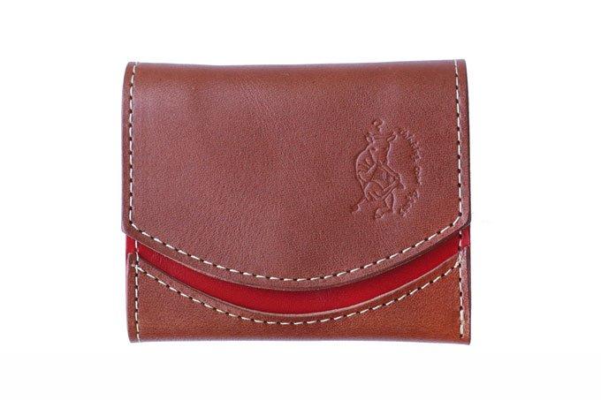小さい財布 小さいふ。東急ハンズコラボ COMACHIシリーズ「ペケーニョ COMACHIブラウン」栃木レザー茶