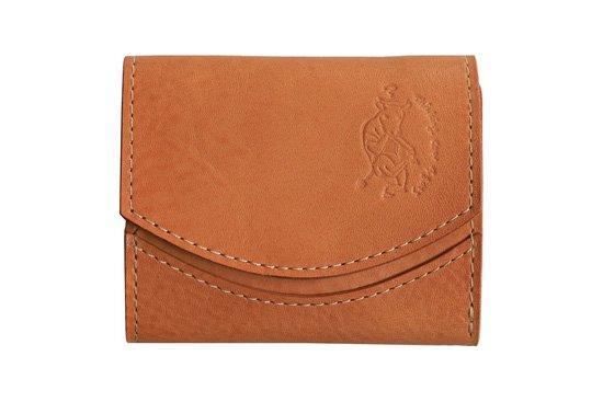 【限定】小さい財布 小さいふ。イタリアンレザーシリーズ「ペケーニョ  VOLPI ヴォルピ社 オイルレザー シナモン」