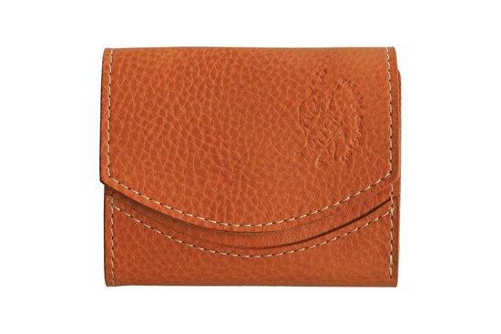 【限定】小さい財布 小さいふ。イタリアンレザーシリーズ「ペケーニョ  VOLPI ヴォルピ社 オイルレザー キャメル」